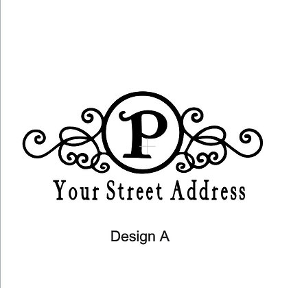 Mail Box Decal - Multiple Designs