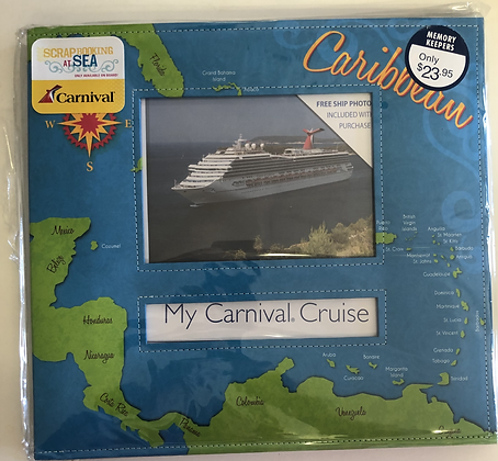 Carnival Cruise Scrapbook and More!