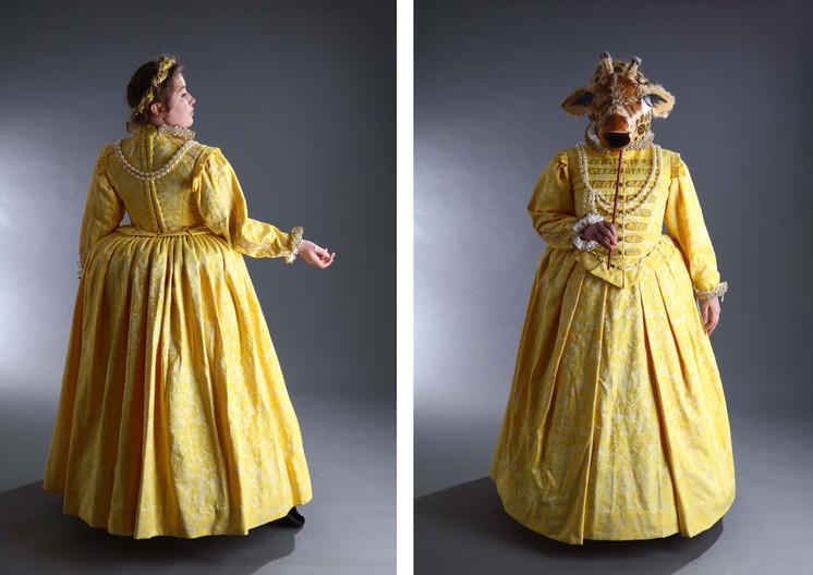 Elizabethan court gown
