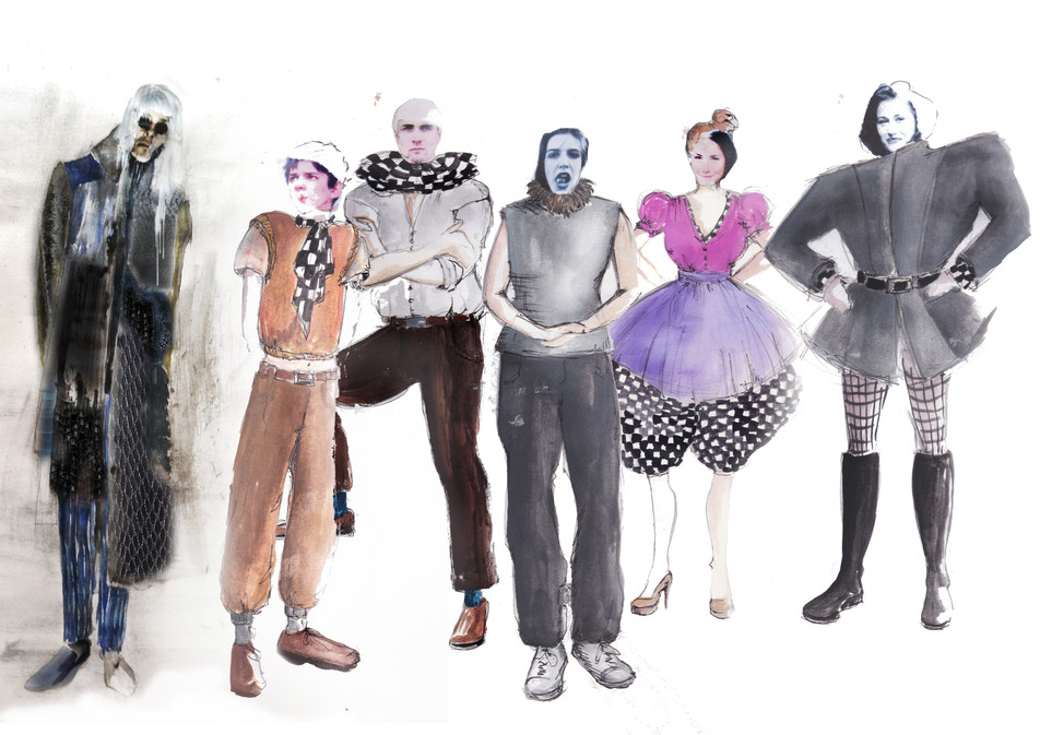 Costume Designs - Character Costumes