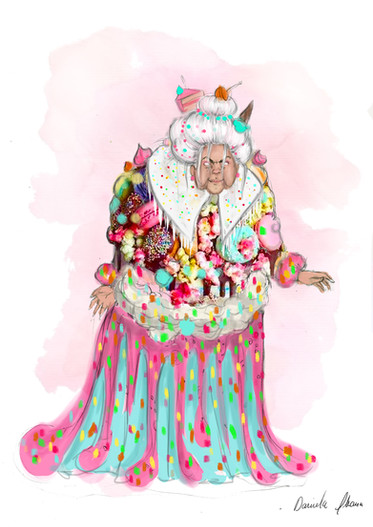 Gingerbread Witch Design