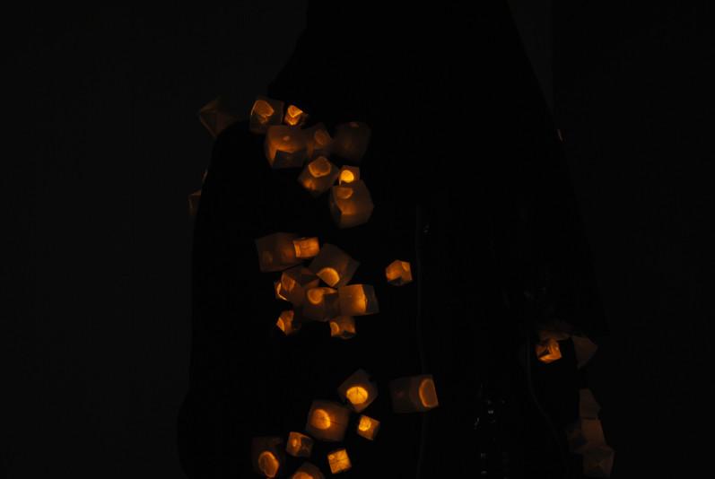Tiny lights flickering