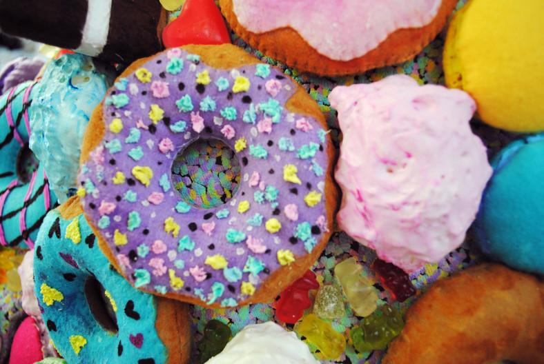 Sprinkles and meringues