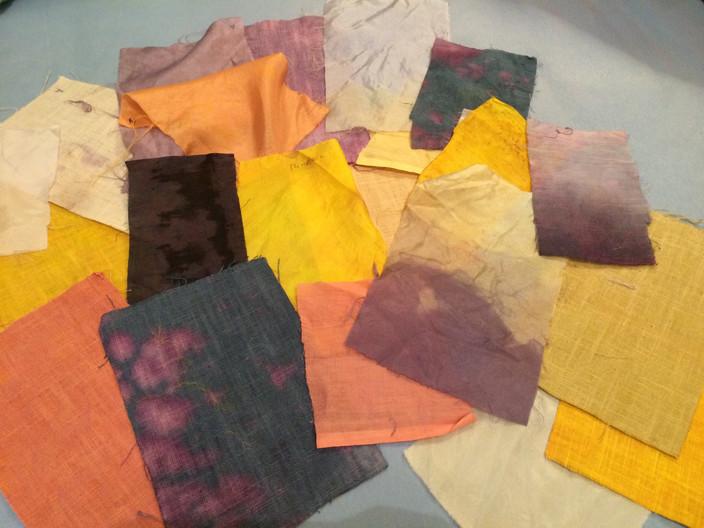 Natural Dye Samples