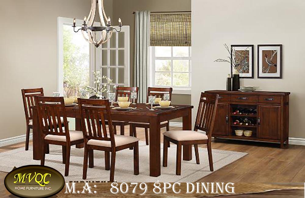 8079 8pc dining