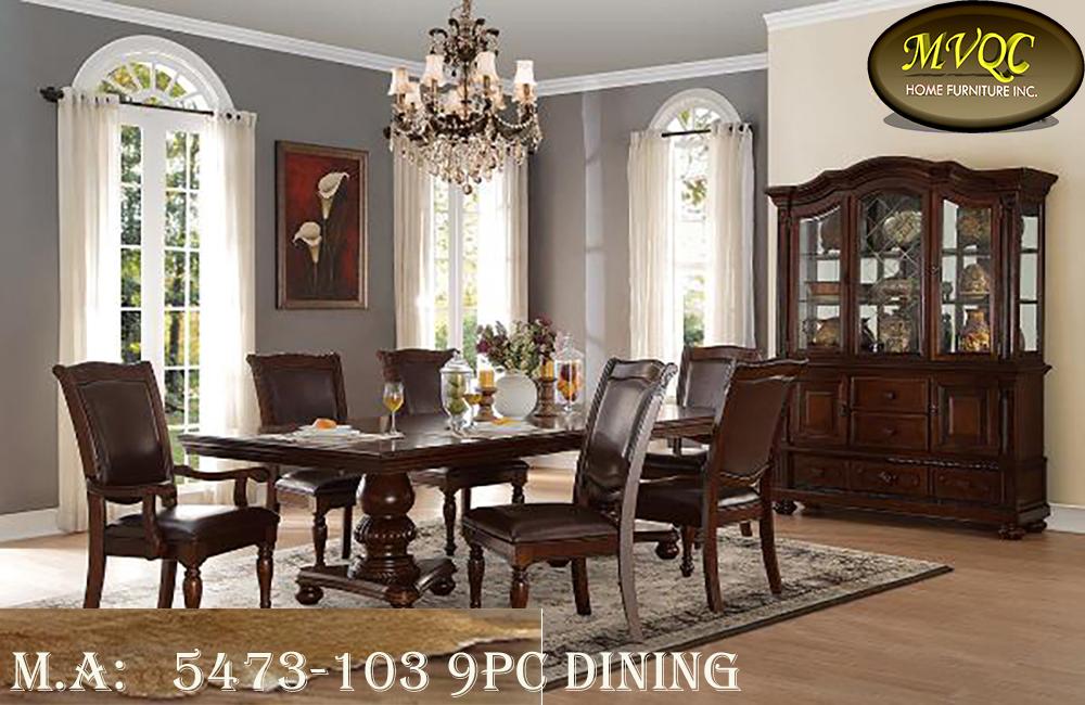 5473-103 9pc Dining