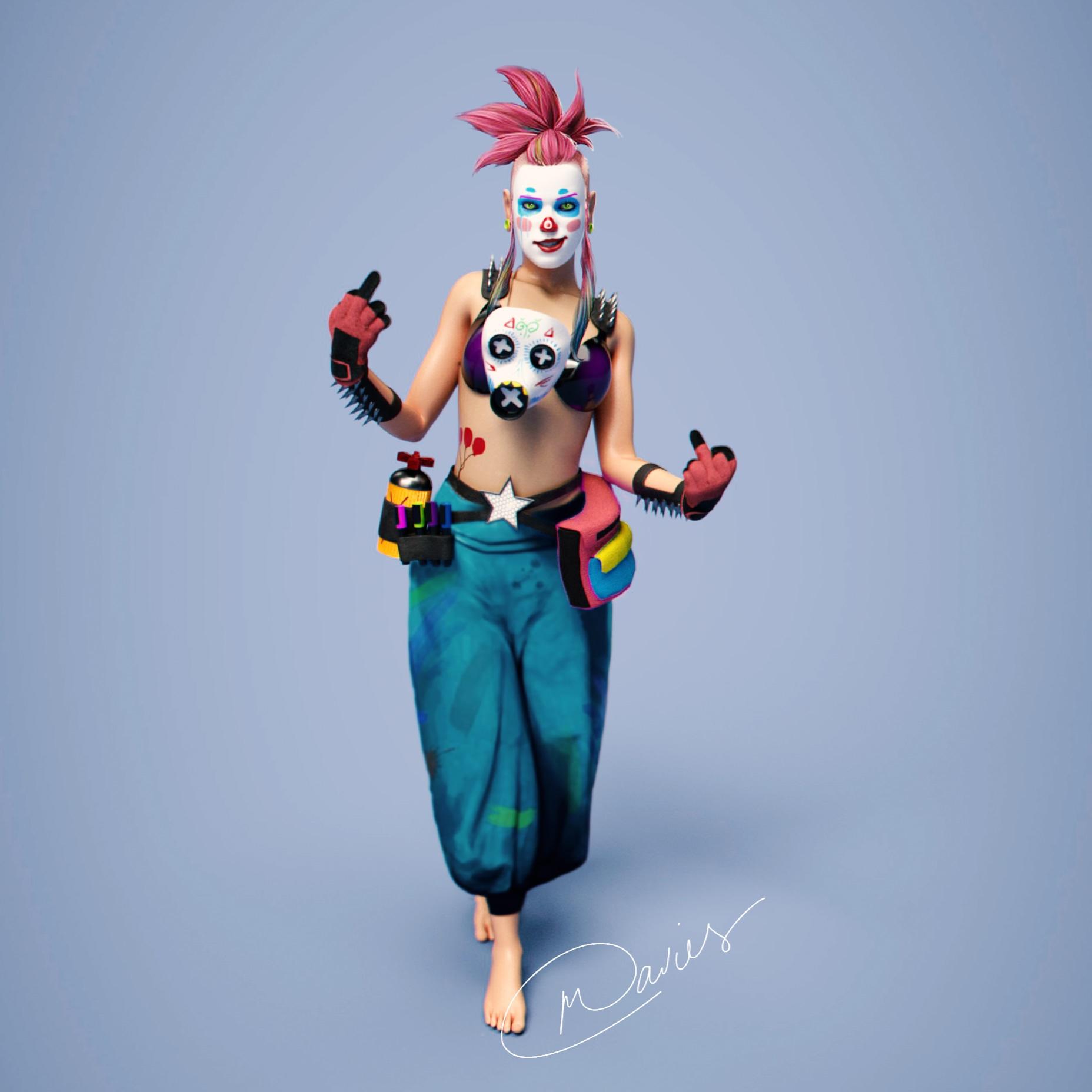 Clown PUNK