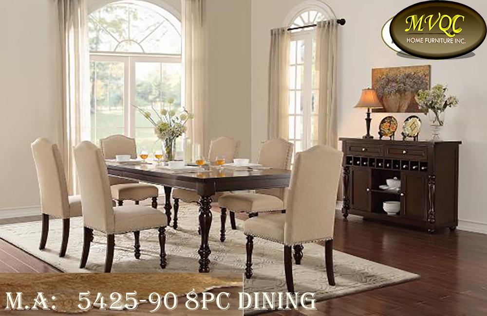 5425-90 8pc dining