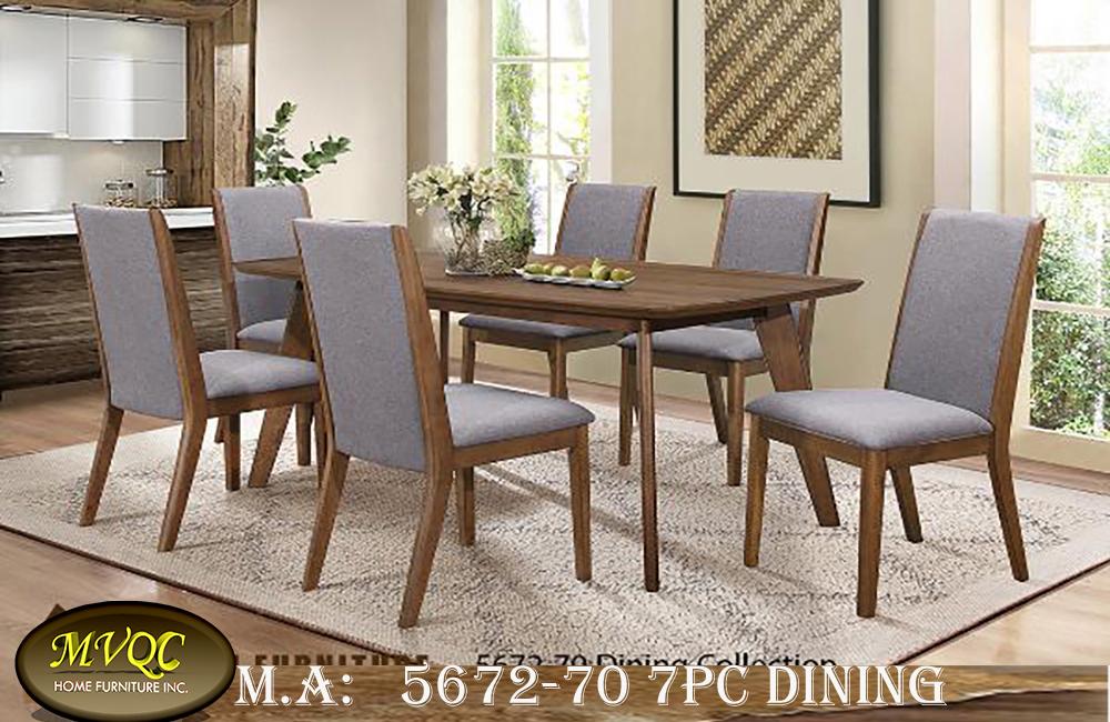 5672-70 7pc dining