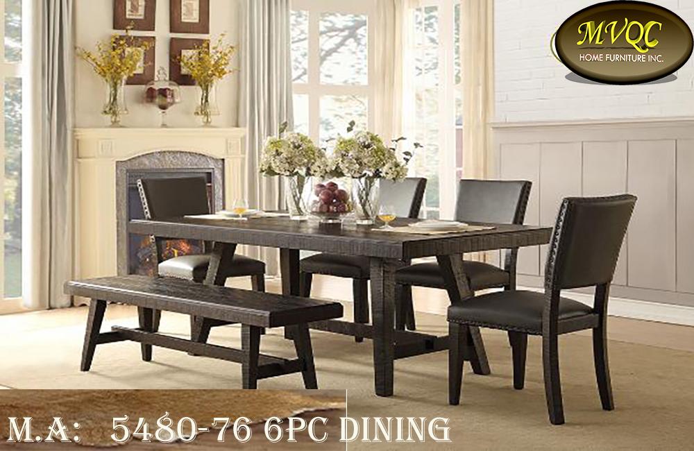 5480-76 6pc dining