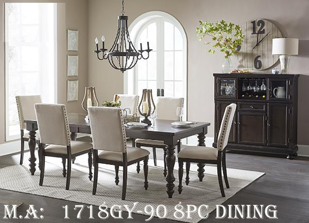 1718GY-90 8pc dining