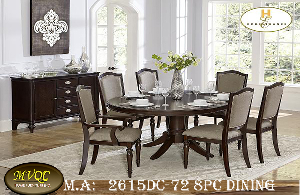 2615DC-72 8pc dining