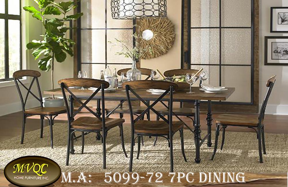 5099-72 7pc dining