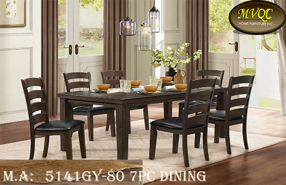 5141GY-80 7pc dining