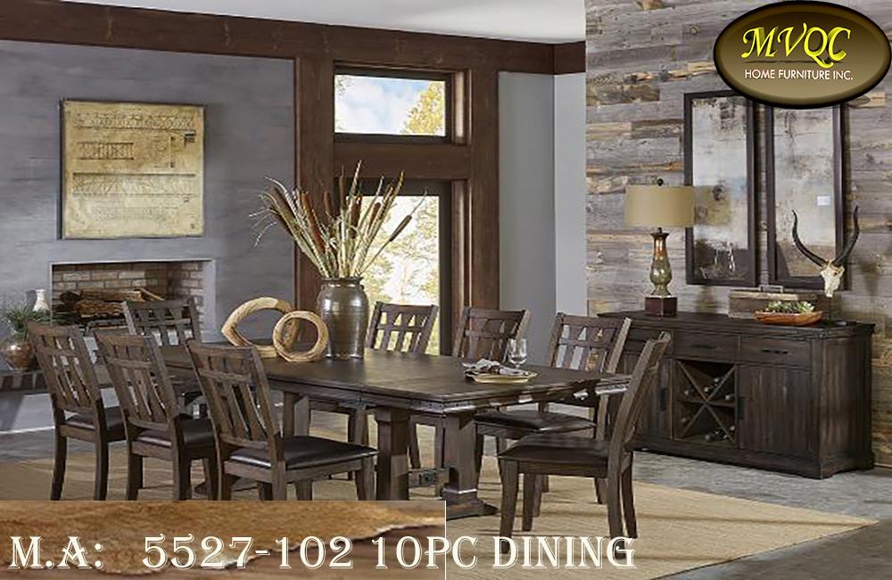 5527-102 10pc dining