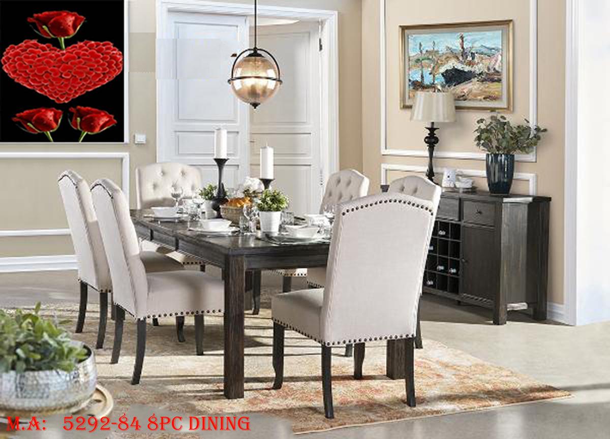 5292-84 8pc dining