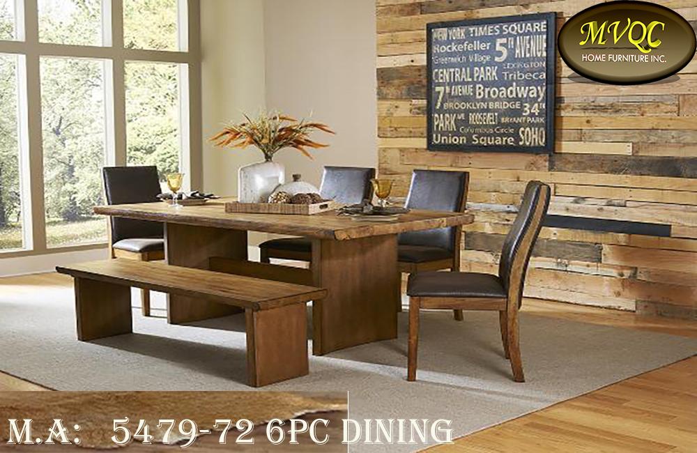 5479-72 6pc dining