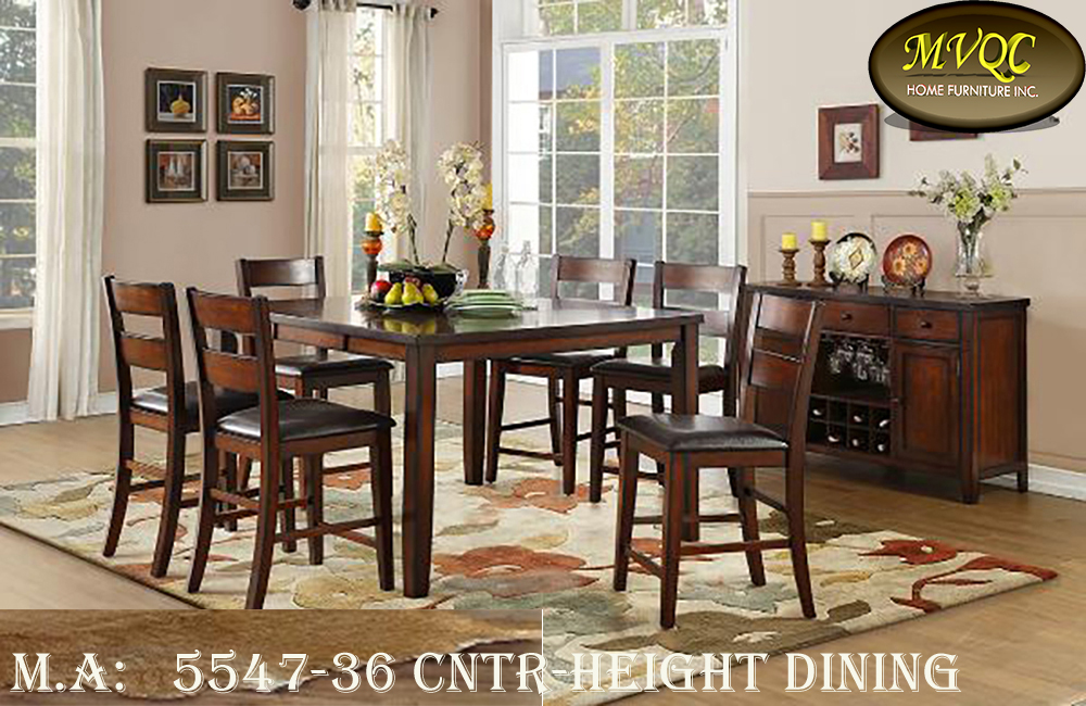 5547-36 cntr-height dining