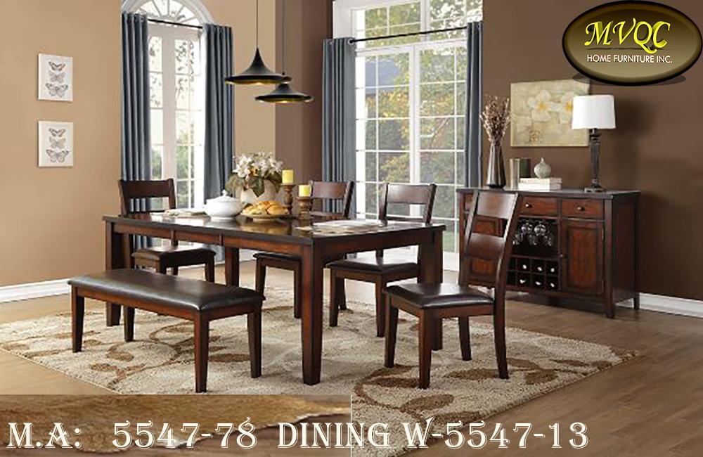 5547-78  dining w-5547-13