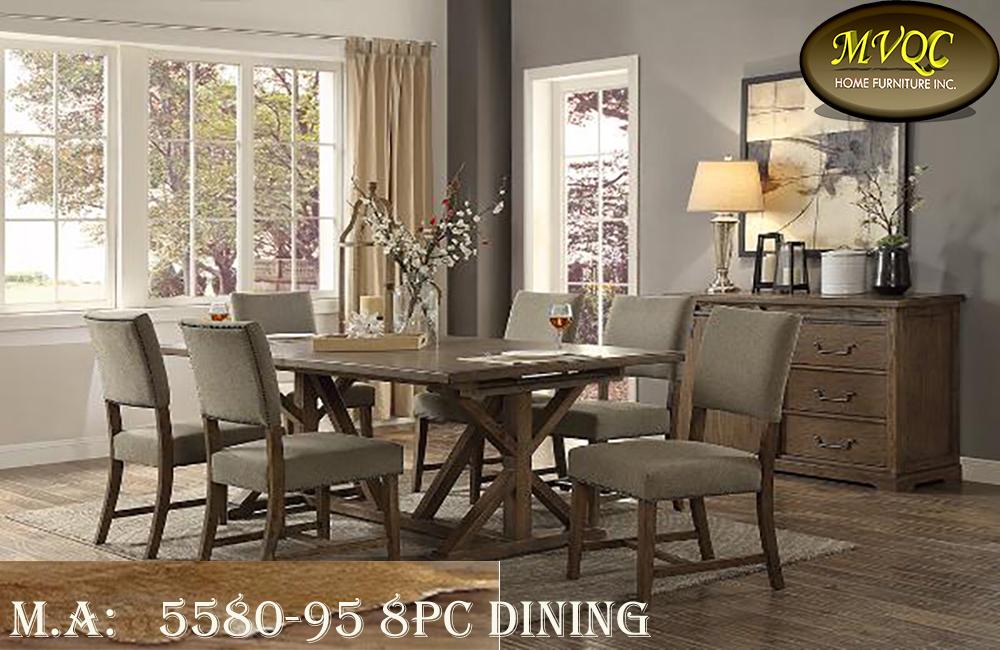 5580-95 8pc dining