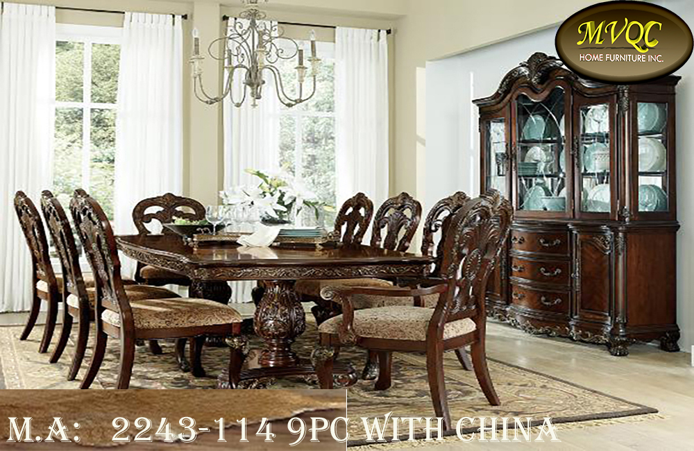 2243-114 9pc with china