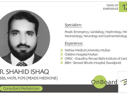OnBoard | Dr. Shahid Ishaq | Pediatrics.
