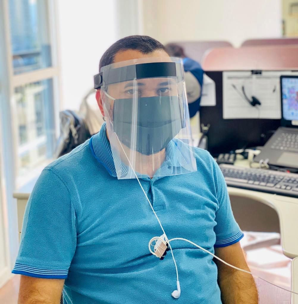 Protetor Facial (shield)