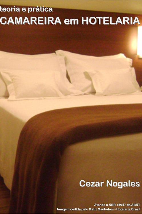 Camareira em Hotelaria, teoria e prática