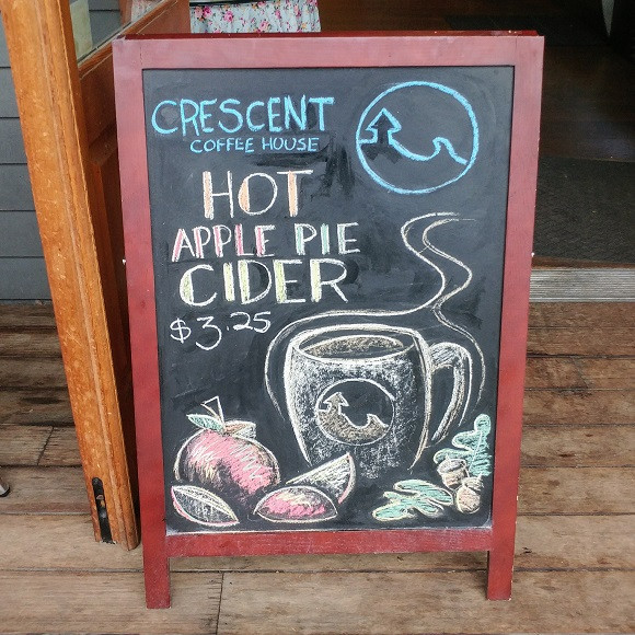 Copy of Crescent Coffee Aplle Cider Chal