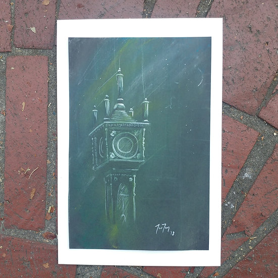 Steam Clock Acrylic