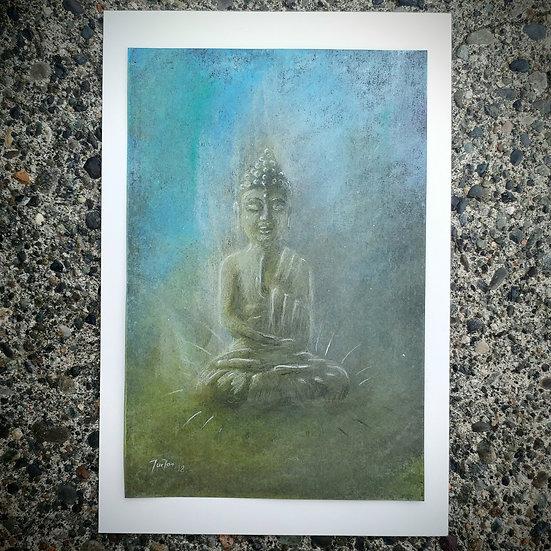 Lifted Buddha