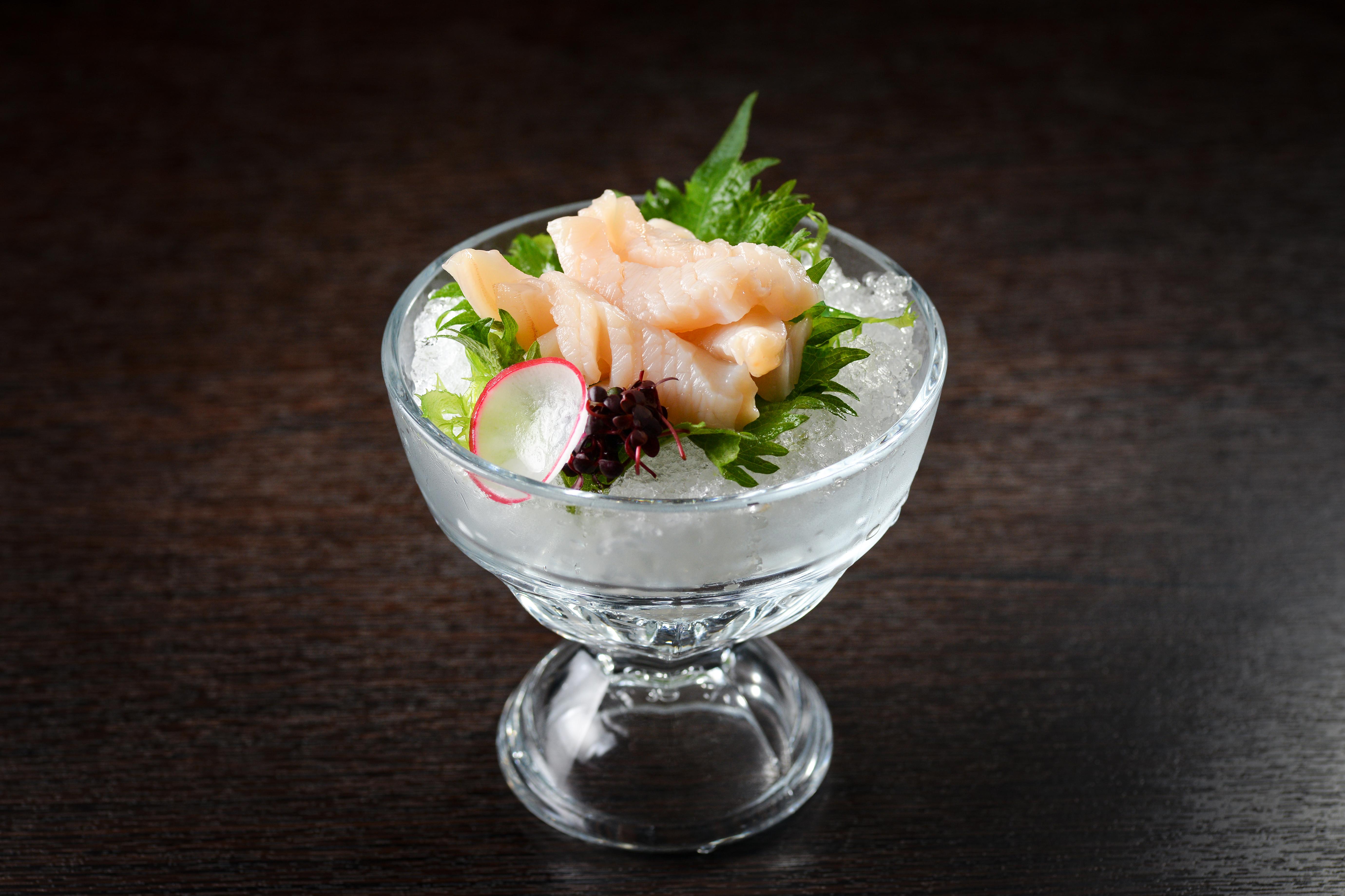 日本みる貝刺身