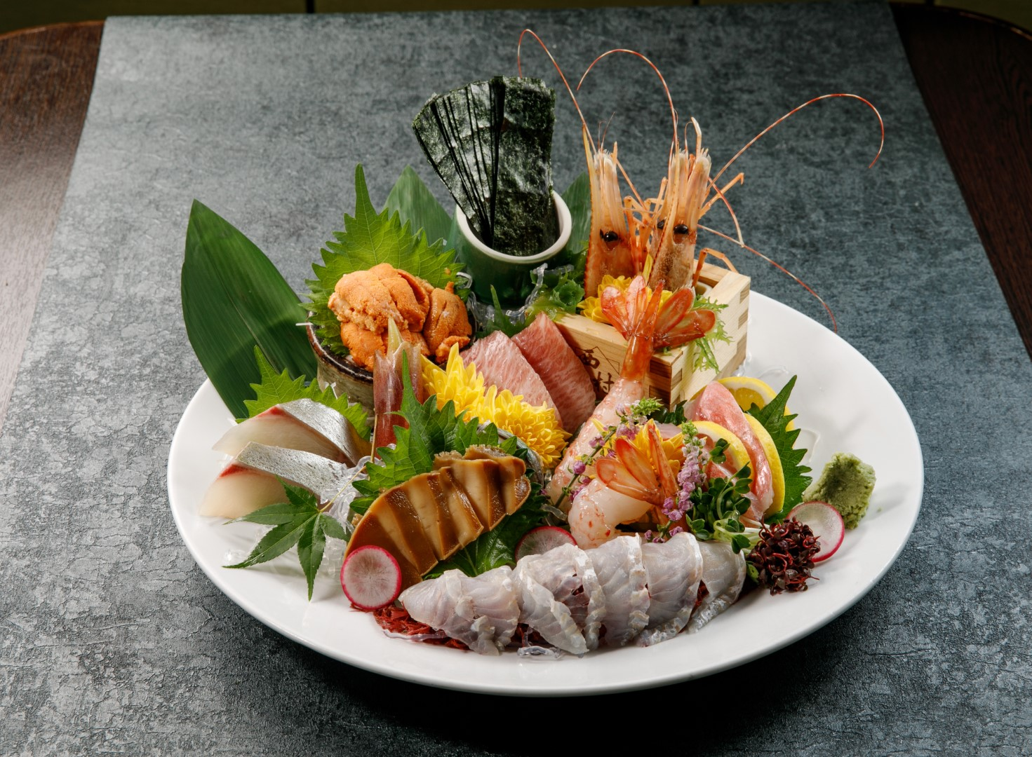 Deluxe Assorted Sashimi (seven kinds