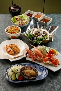 鐵板海鮮一人套餐