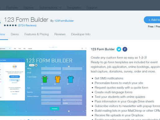 123 Form Builder 介紹