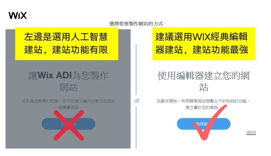 Wix建站方式