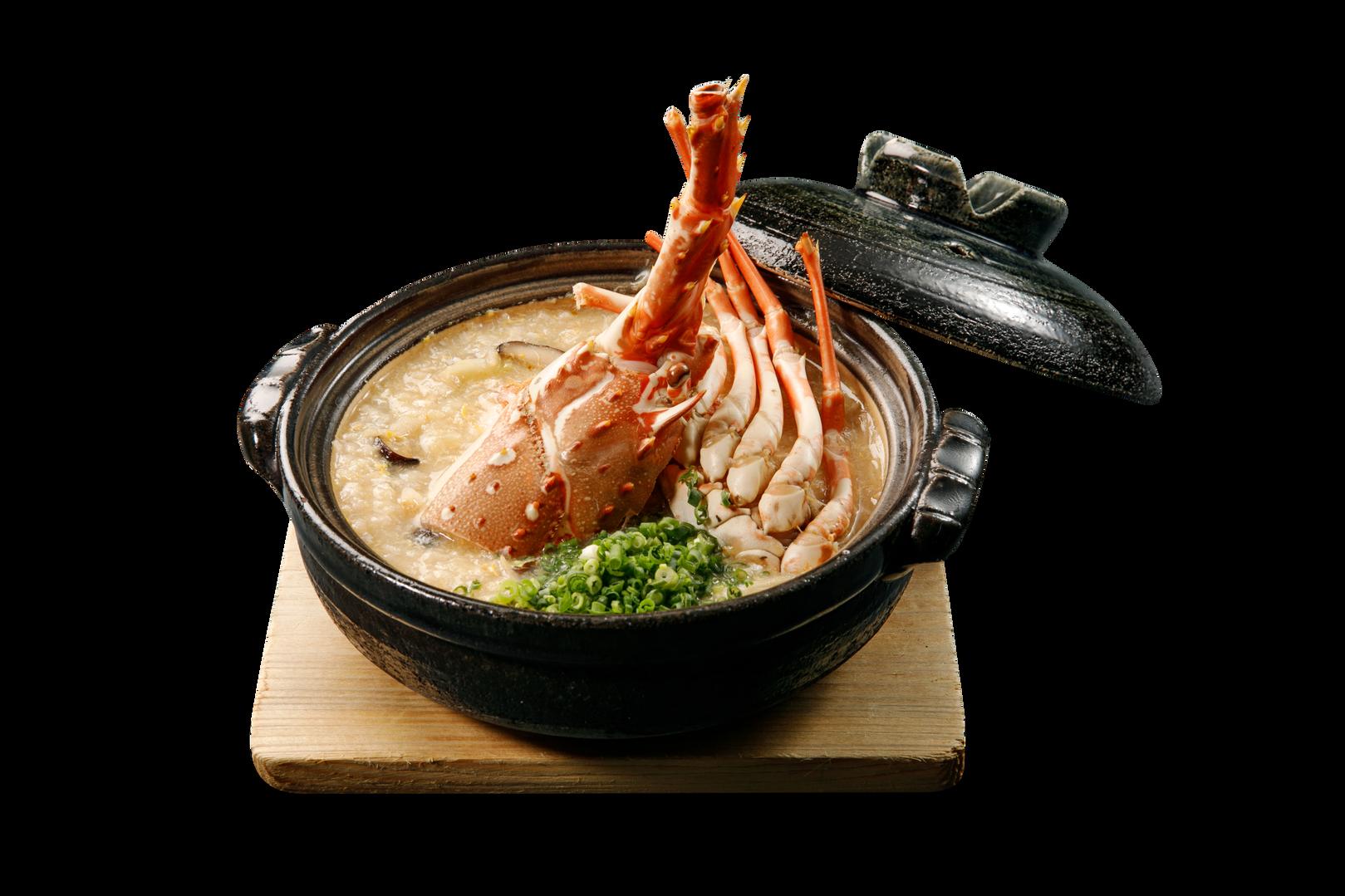 日式龍蝦粥