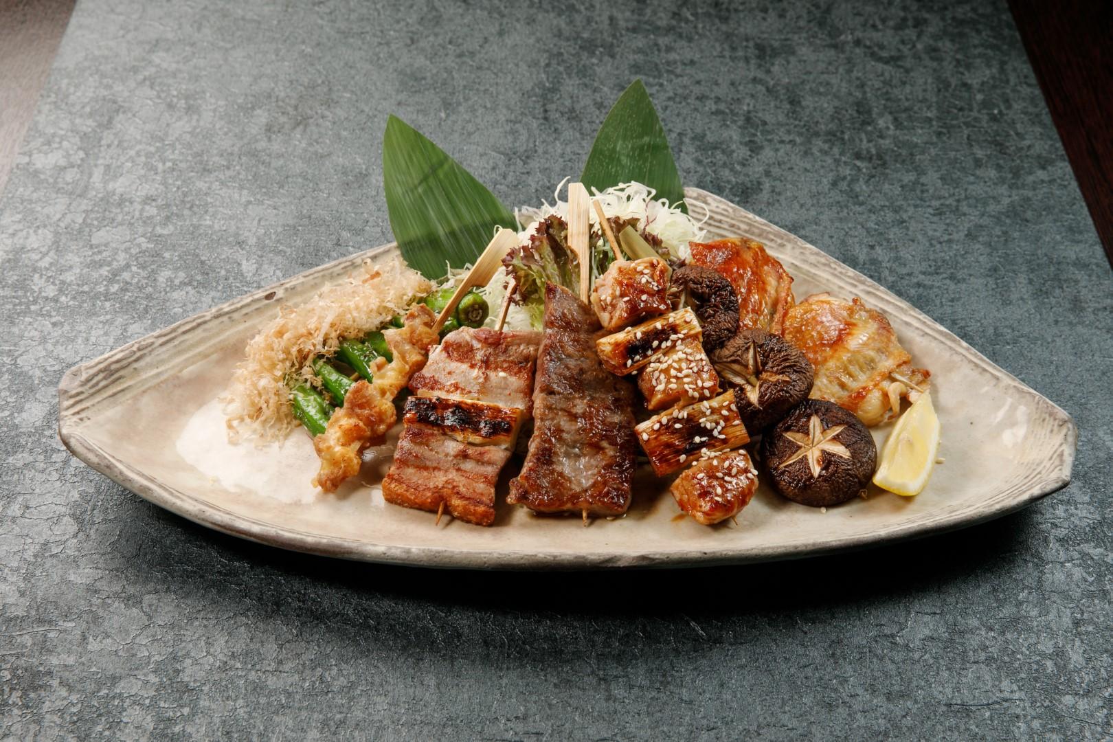 Grilled Food Platter
