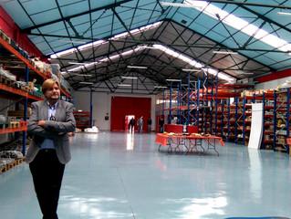 Inauguramos nuestra nueva nave Toycosur en Vigo
