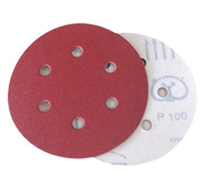 Discos Rojo Óxido con Velcro