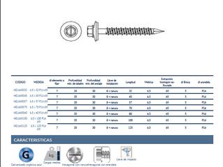 Incorporamos a nuestro catálogo un nuevo tornillo para hormigón que no necesita taco