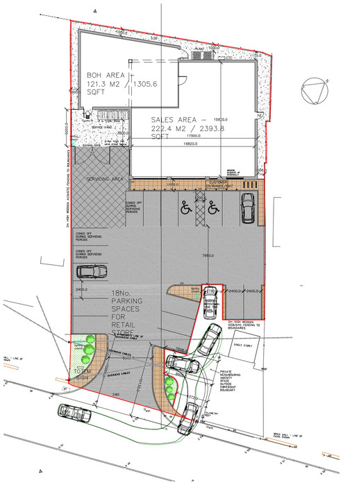 UPWELL SITE PLAN
