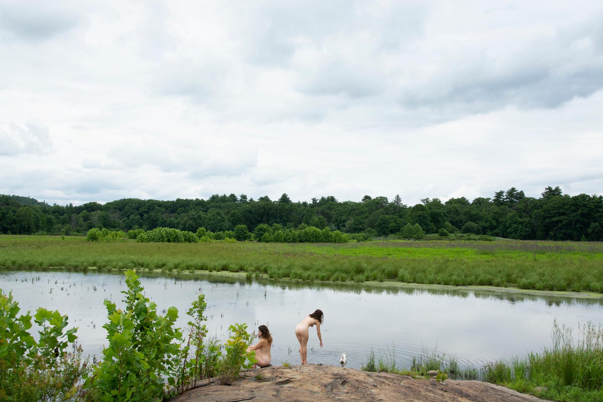 At the Dried Lake - Summer