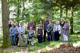 Würdevoll und natürlich: Beisetzungen im FriedWald. Foto: FriedWald/Thomas Gasparini