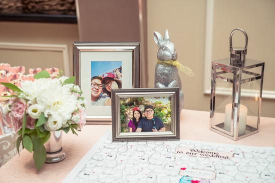 Sherry & Edwin Wedding -Avenue Banquet -Sense Weddings & Events-多伦多婚礼策划-Receiving Table 8.jpg