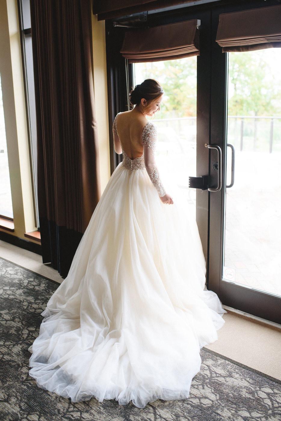 Change & Wei Wedding-Sense Events-多伦多婚礼策-Bridal dress
