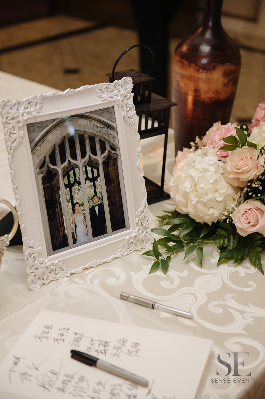 Kelly & Xinwen Wedding @ The Royal Ambassador-Sense Weddings & Events-多伦多婚礼策划-Receiving Table 2