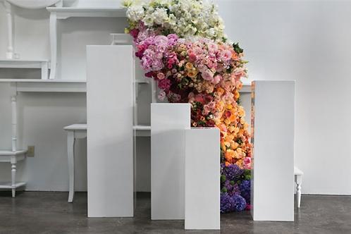 White Column/ Riser/Pedestals