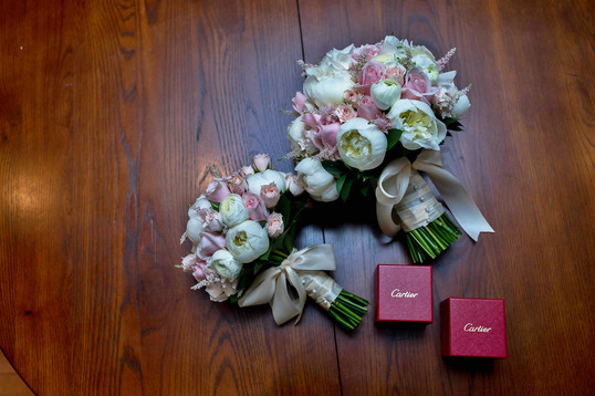 A& J Wedding| The Estate of Sunny Brook- Bouquet & Wedding Ring
