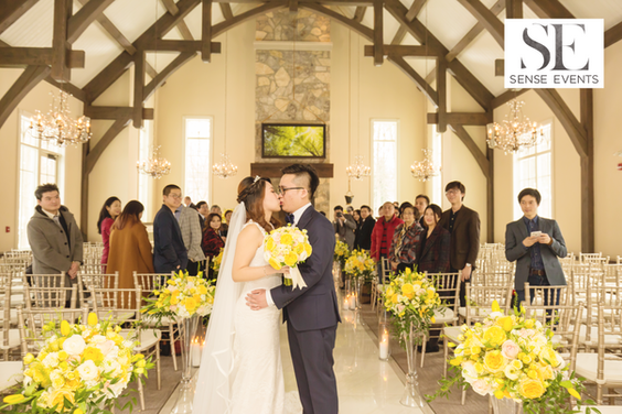 Ericas & Giggs Wedding at Ancaster Mills - Ceremony 5